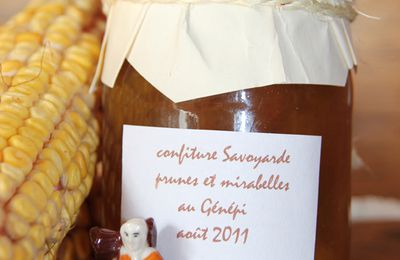 CONFITURE SAVOYARDE AU GENEPI