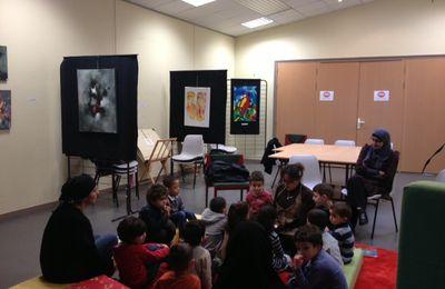 Petite Visite à la Bibliothèque pour le Jardin d'Eveil