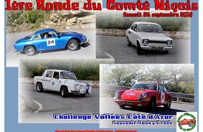 1ere Ronde du Comté Niçois 2010 - Challenge Vallées Côte d'Azur