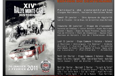 14eme Rallye Monte Carlo Historique 2011