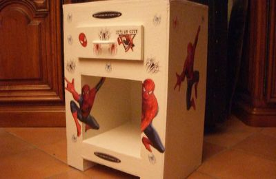 Chevet Enfant Spiderman