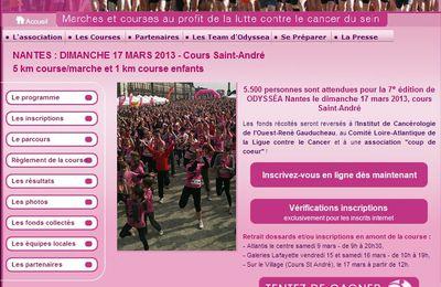 MARCHES ET COURSES A NANTES- ODYSSEA 2013