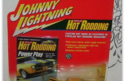 Camaro by Johnny Lightning.