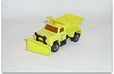 "Master 6000 ""Highway / Plow Master"" truck by Matchbox."