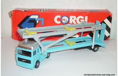 "Volvo ""Car Transporter"" by Corgi."