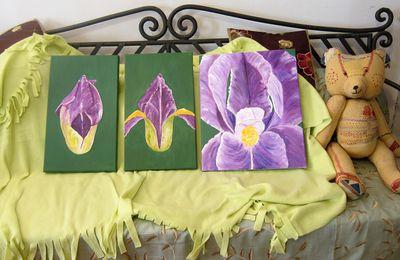 Peinture à l'huile et aquarelle chez les adultes
