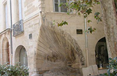 LES CROISES vers MONTPELLIER. (Hérault)