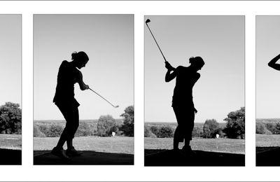 Initiation au golf.