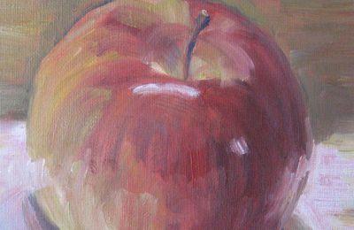 la pomme rouge
