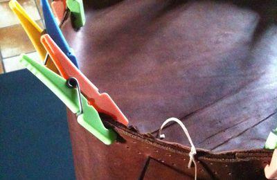 Réalisation d'un sac en cuir part 2