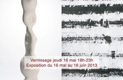 OGHAM - Martine Polisset, céramiste - Jacques Parnel, plasticien