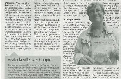 Article Observateur Valenciennois du 21 septembre 2012