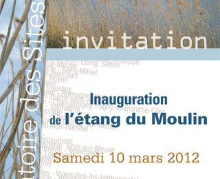 Inauguration de l'Etang du Moulin