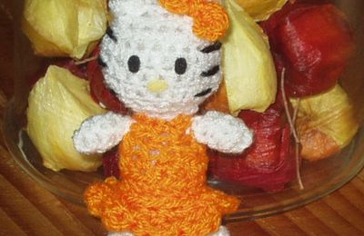 un mini kitty (porte clef)