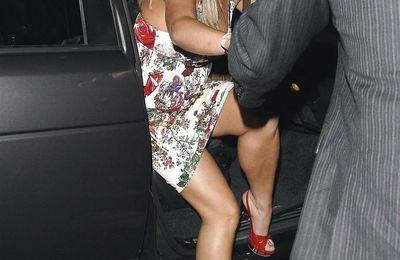 Le tatouage sur le pied de Britney Spears