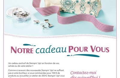 PROMO STAMPIN UP AOUT 2011