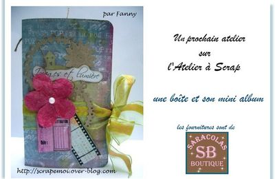 "L'ATELIER A SCRAP ""BOX ET SON MINI"""