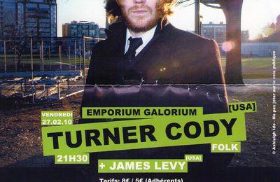 Soirée rouennaise du 27/02/10 : James Levy + Turner Cody !
