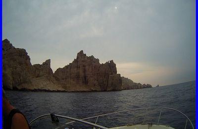 Plongée, Riou, la pierre à Daniel