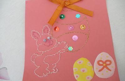 petite carte pour Pâques