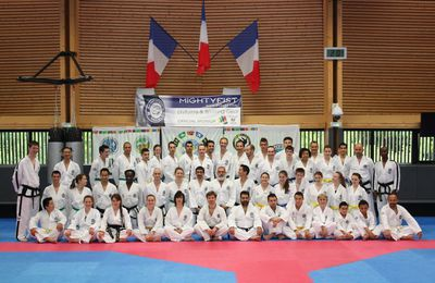 STAGE TECHNIQUE NATIONAL 2014 à L'INSEP