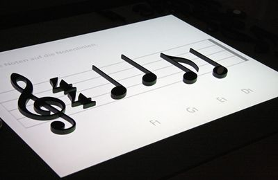 Noteput - Interactive Music Table