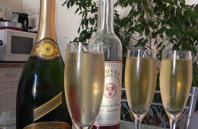 truites au champagne