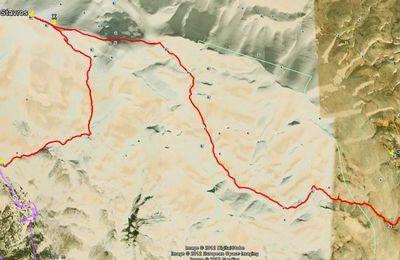 Randonnée en Crète n° 80: Le Psiloritis d'ouest en est, de Toumbotos-Prinos au plateau du Nidha