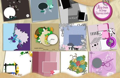 un peu scrapbooking digital