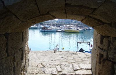 port d'Heraklion (Crète)