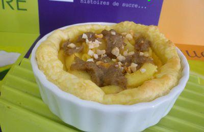 Tartelettes de Rillettes aux Pommes