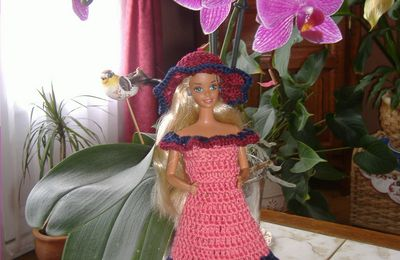 robe de barbie
