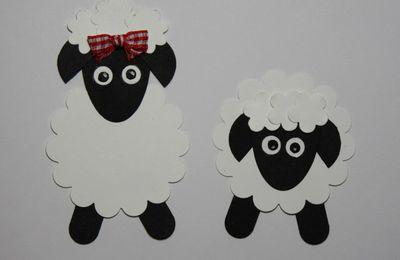 Réaliser des z'animaux rigolos avec les perfos : les moutons !