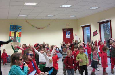 Spectacle de Noël de l'école de Vascoeuil