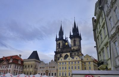 Prague ! Capitale de la Rép Tchèque
