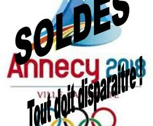Annecy 2018 : soldes monstres