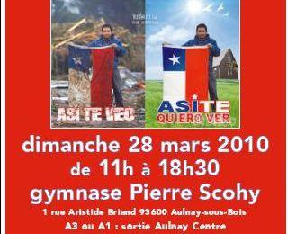 Dimanche, journée de solidarité pour le Chili