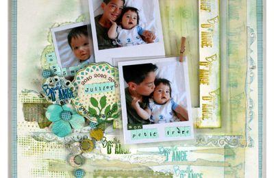 une nouvelle page du petit Arthur .....et de son grand frère....