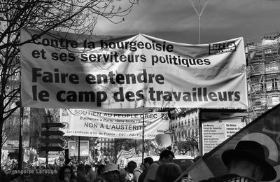 Paris, manifestation du 9 avril 2015.