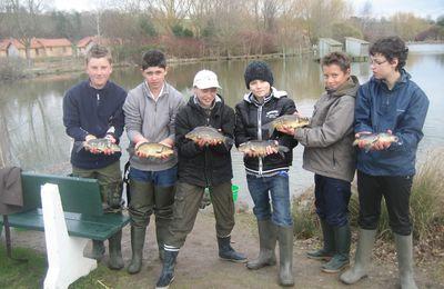 L'école de pêche va bon train....