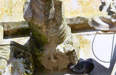 Les gargouilles de Notre-Dame de l'Épine