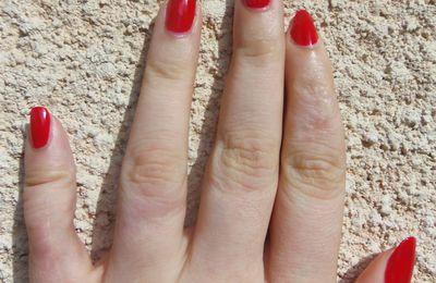 Swatch Flormar 405 (Coup de coeur Rouge!)
