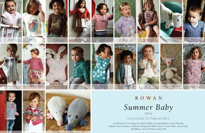 Le nouveau catalogue layette Printemps Eté