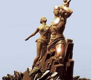 Le Monument de la Renaissance africaine et Hissene Habré