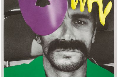 James FRANCO + John BALDESSARI = VISIONAIRE #64