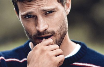 Jamie DORNAN...par Boo GEORGE...VOGUE UK Nov. 14