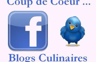 Facebook : (re-)découverte de blogs culinaires. Semaine 5.