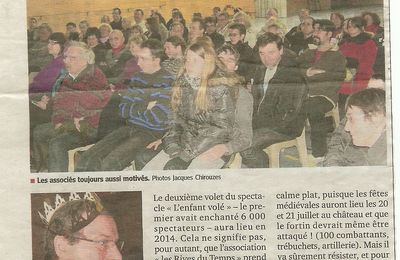Article Presse AG du 26/01/2013