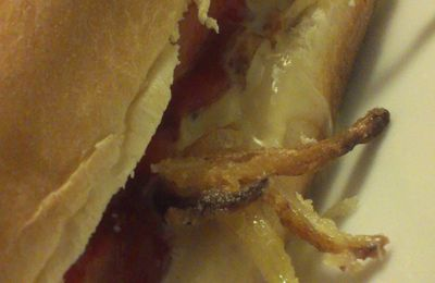 Hot dog à la fourme d'Ambert