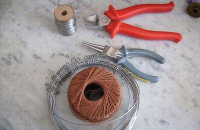 tuto cupcake fil de fer+crocheter.